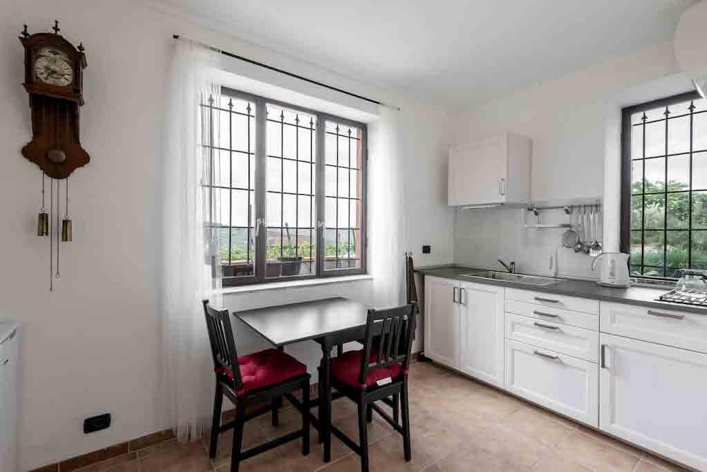 Woonkeuken appartement Cantinetta