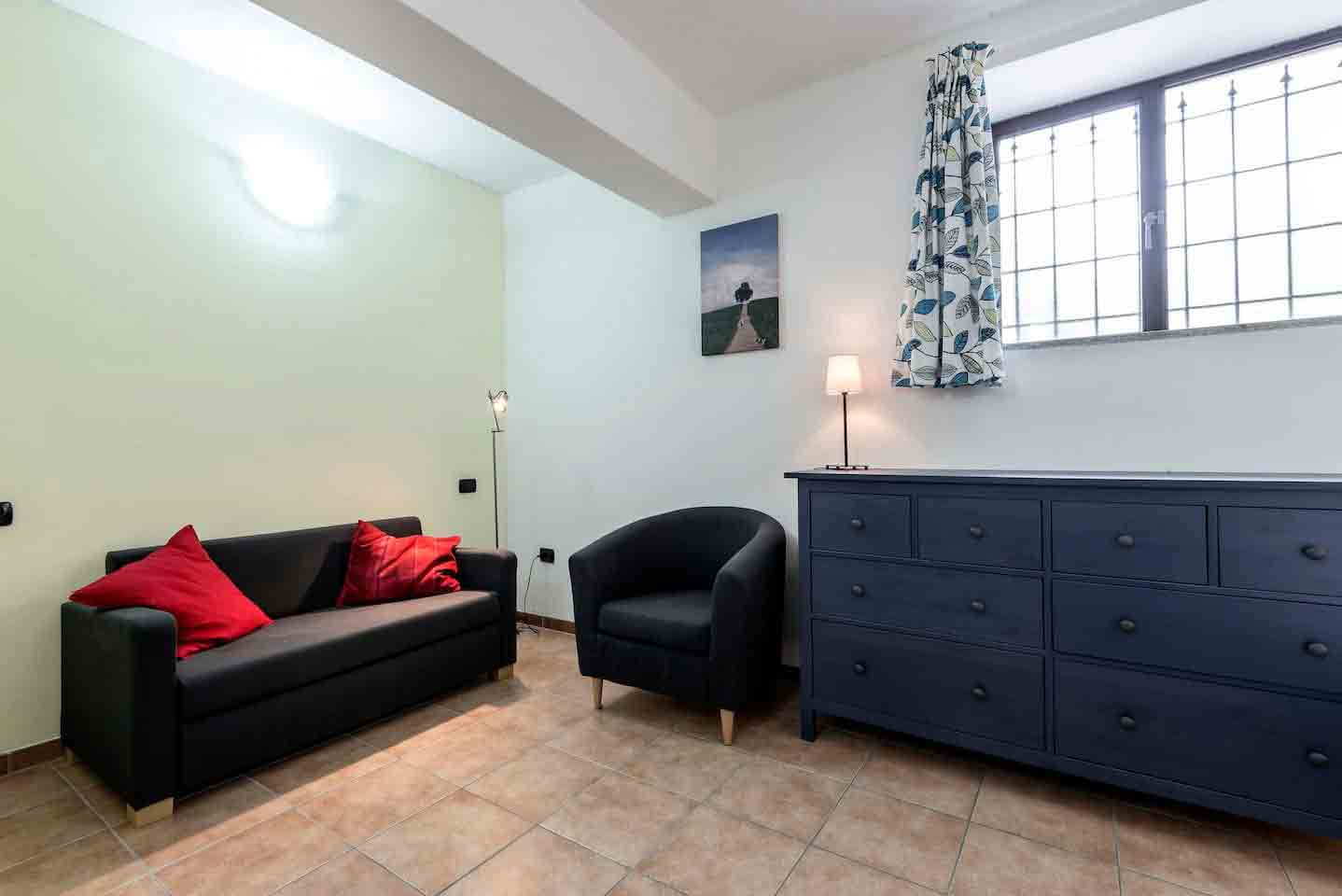 Zit-/slaapkamer appartement Cantinetta
