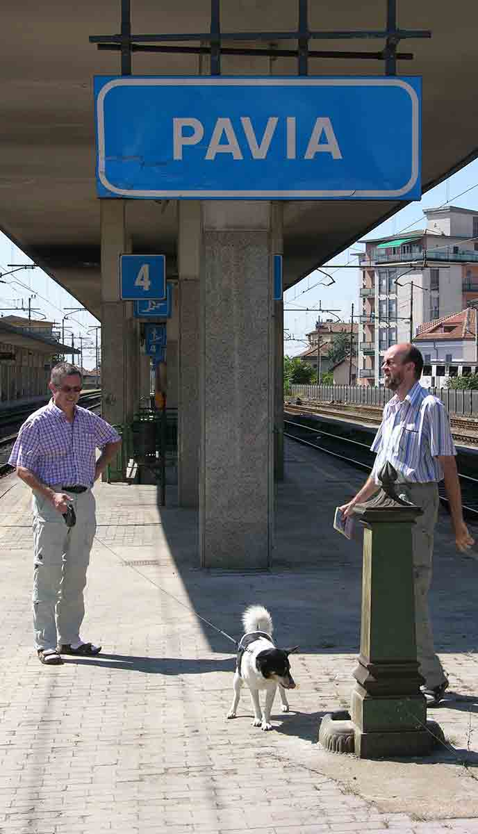 Station Pavia